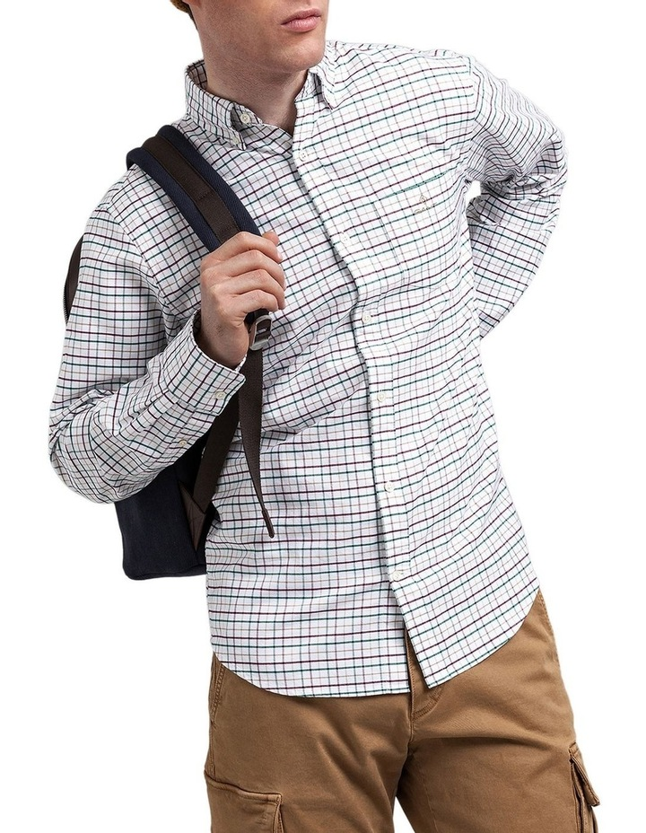 The Beefy Oxford Check Regular Long Sleeve Shirt image 1