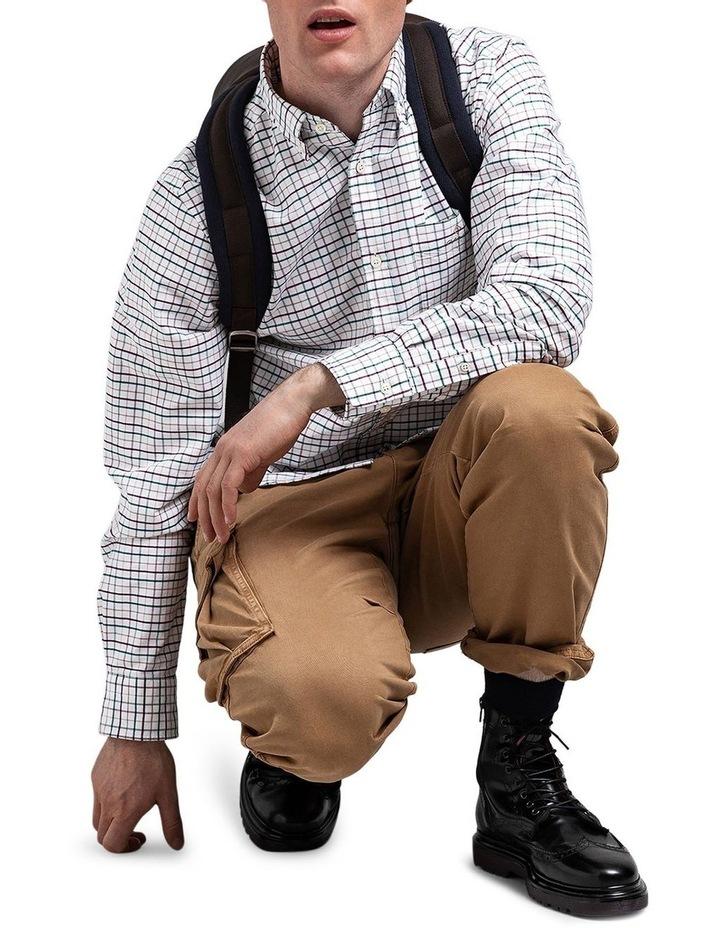 The Beefy Oxford Check Regular Long Sleeve Shirt image 2