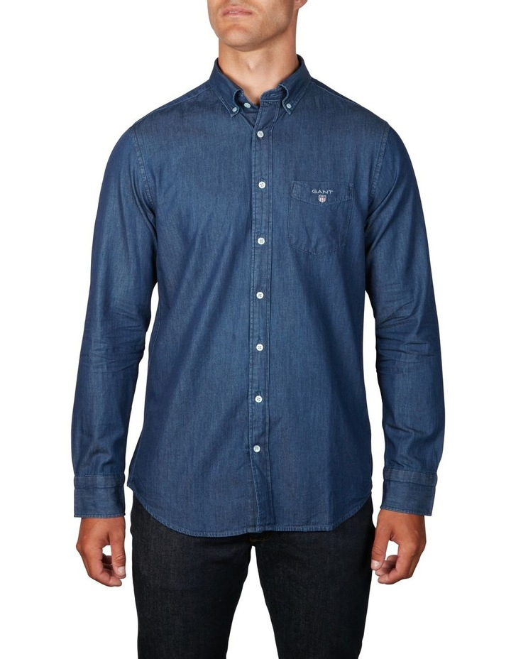 The Indigo Regular Long Sleeve Shirt image 1