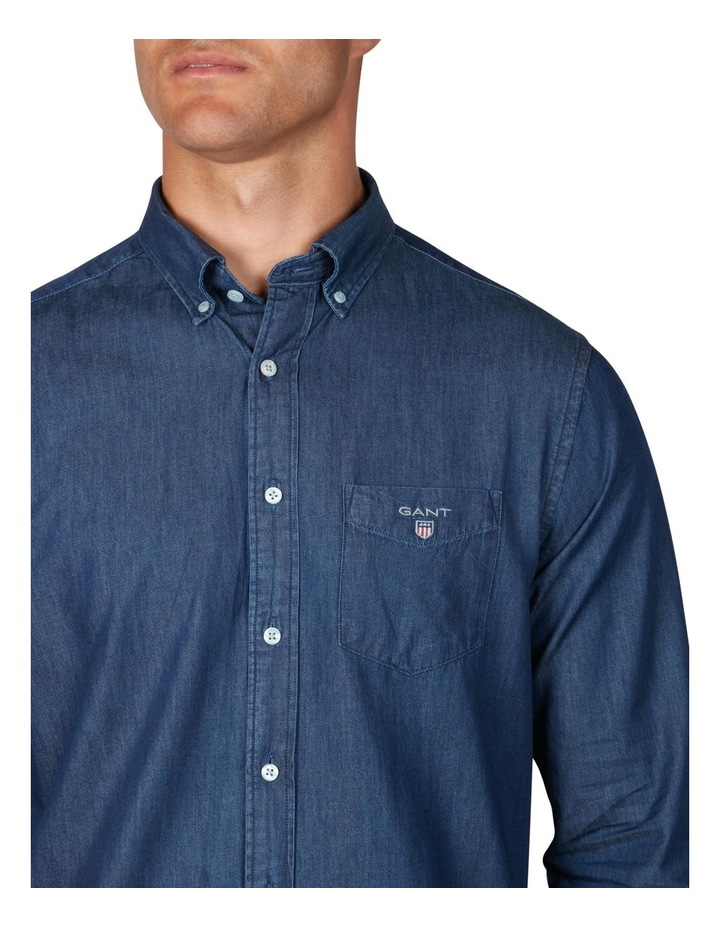 The Indigo Regular Long Sleeve Shirt image 3