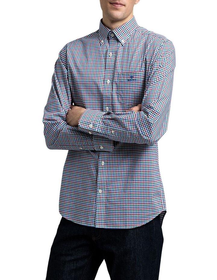 The 3 Colour Gingham Regular Long Sleeve Shirt image 1