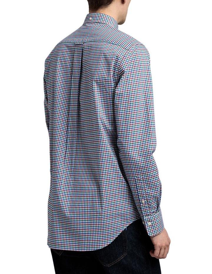 The 3 Colour Gingham Regular Long Sleeve Shirt image 2
