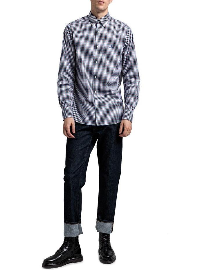 The 3 Colour Gingham Regular Long Sleeve Shirt image 3