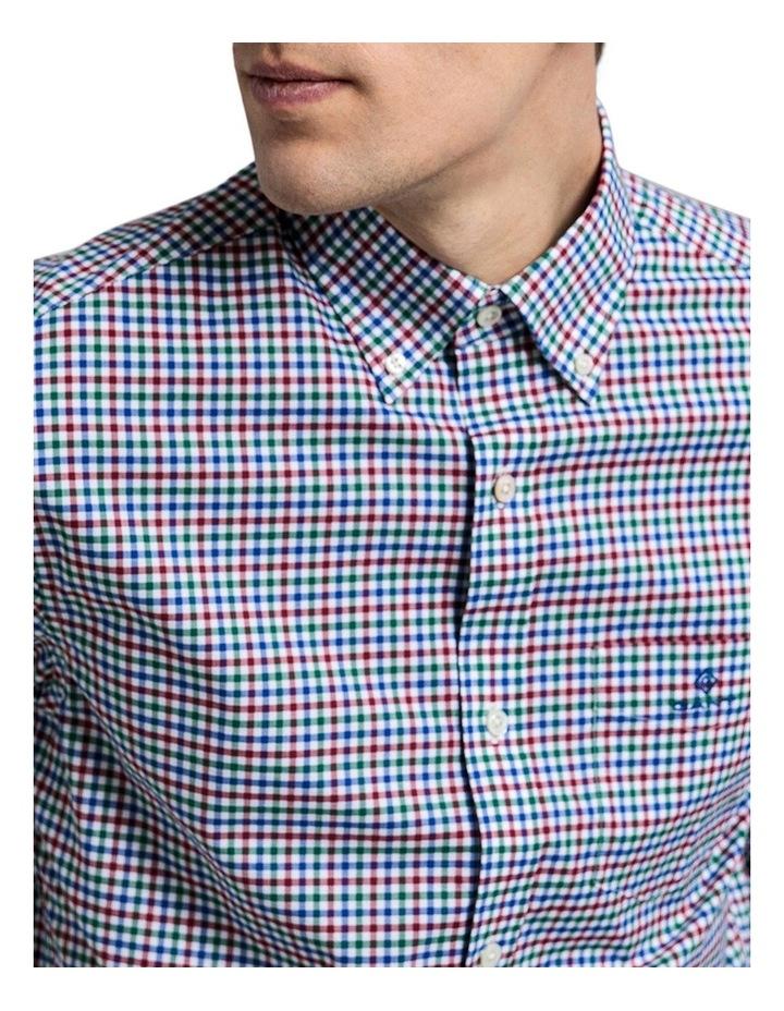 The 3 Colour Gingham Regular Long Sleeve Shirt image 4