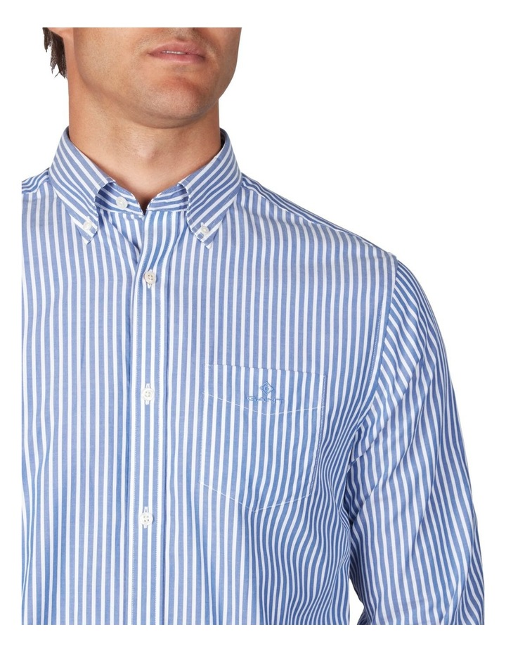 The Broadcloth Stripe Long Sleeve Shirt image 3