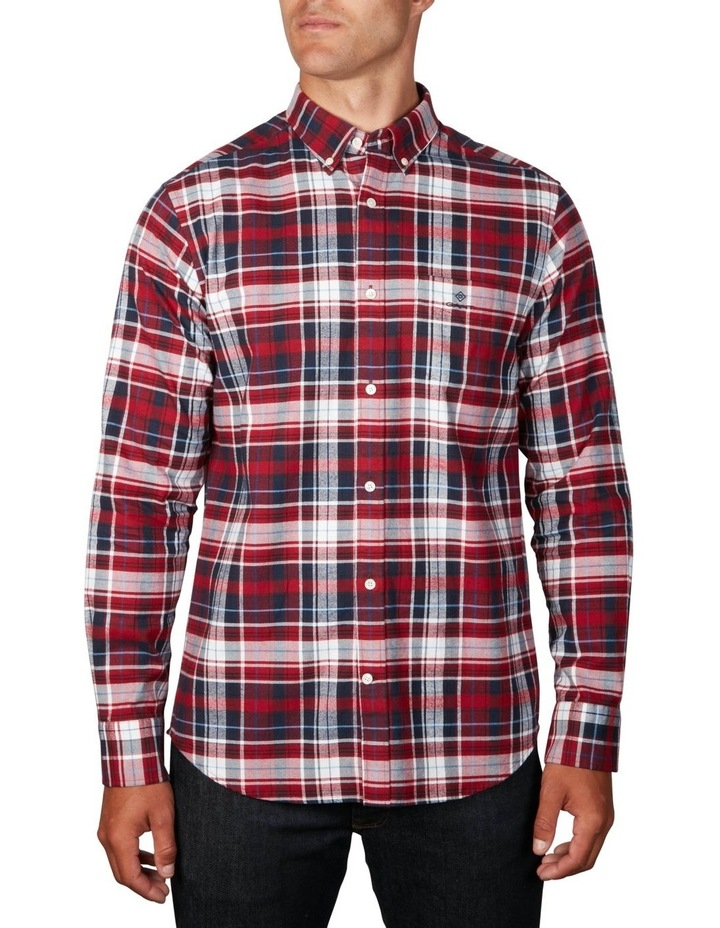 Oxford Plaid Long Sleeve Shirt image 1