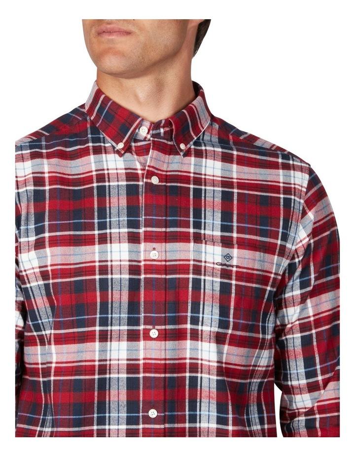 Oxford Plaid Long Sleeve Shirt image 3