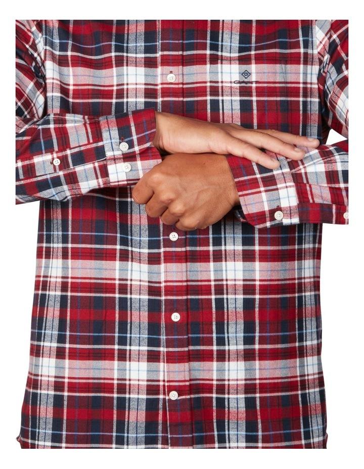Oxford Plaid Long Sleeve Shirt image 4