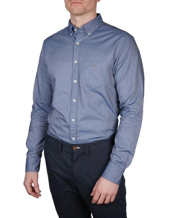 Regular Oxford Broadcloth Long Sleeve Shirt image 1