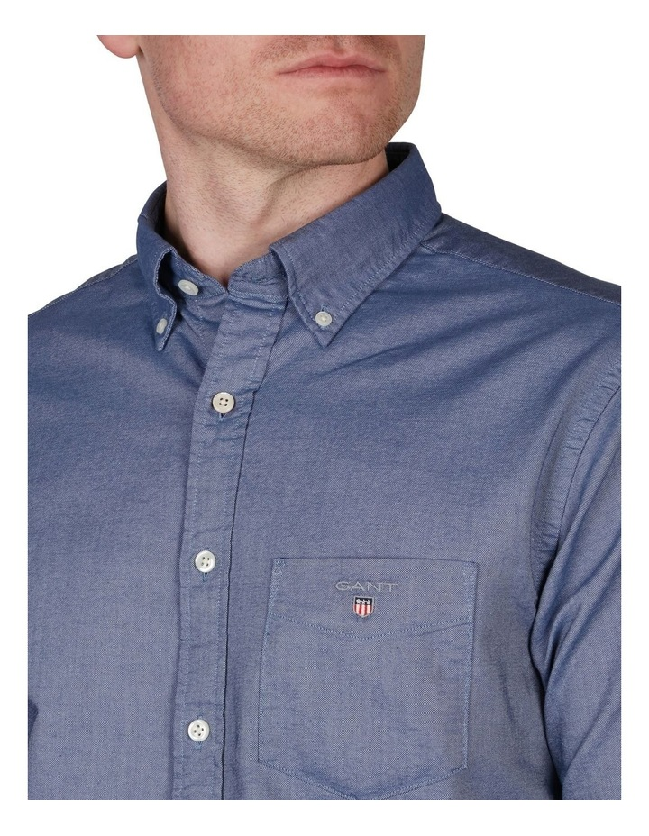 Regular Oxford Broadcloth Long Sleeve Shirt image 3