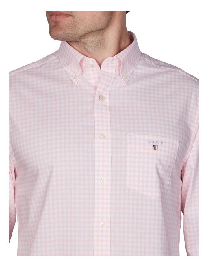 Regular Broadcloth Gingham Long Sleeve Shirt image 2