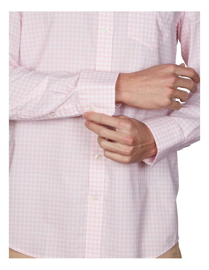 Regular Broadcloth Gingham Long Sleeve Shirt image 3