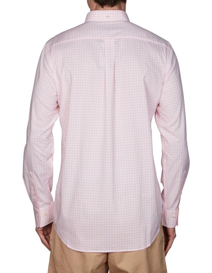 Regular Broadcloth Gingham Long Sleeve Shirt image 4