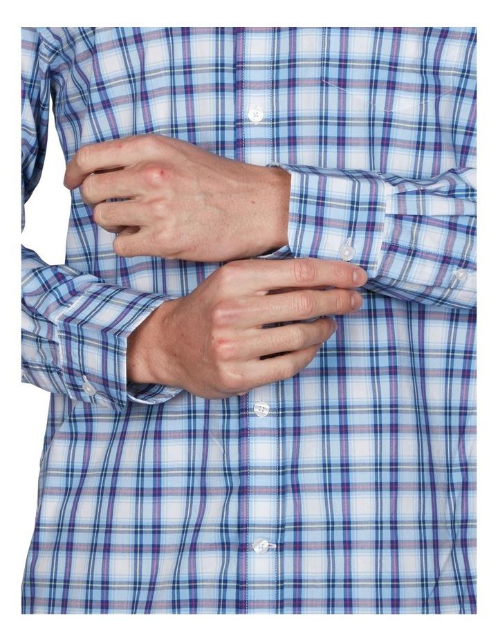 Tech Prep Regular Multi Check Broadcloth Long Sleeve Shirt image 3