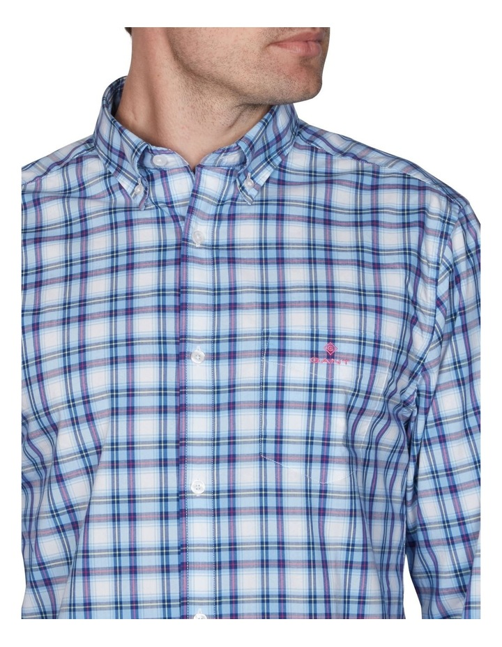 Tech Prep Regular Multi Check Broadcloth Long Sleeve Shirt image 4