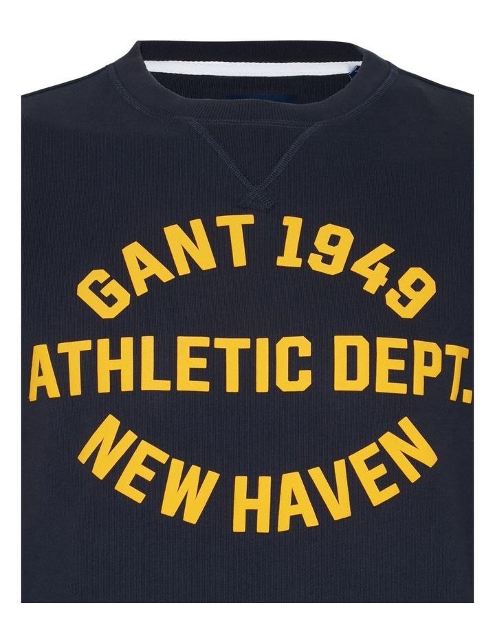 Gant Varsity Crew Neck Sweat image 3