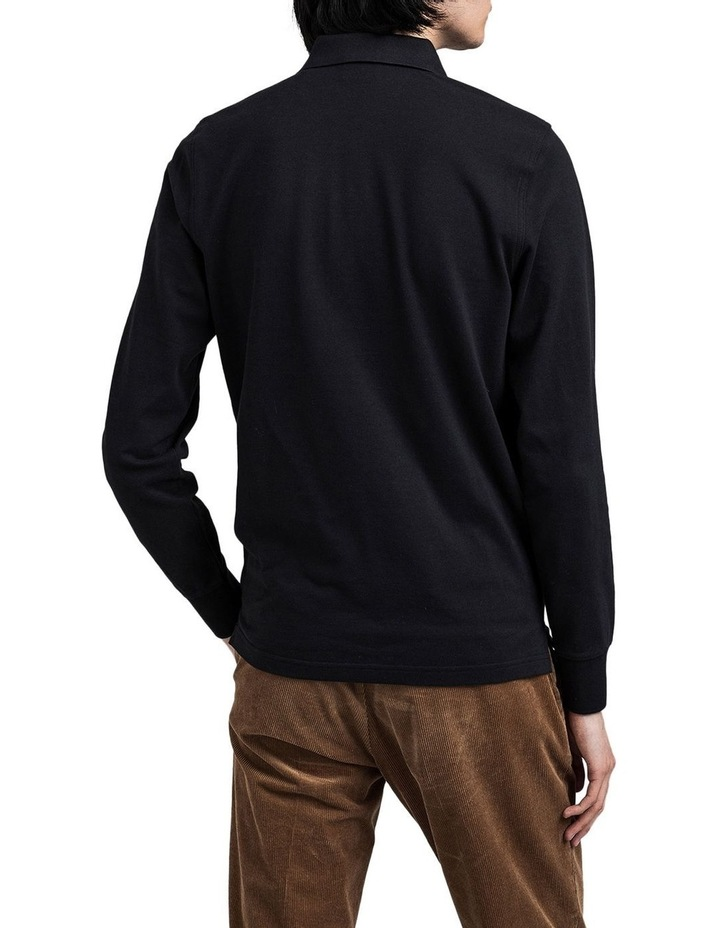 The Original Pique Long Sleeve Rugger Polo Top image 2