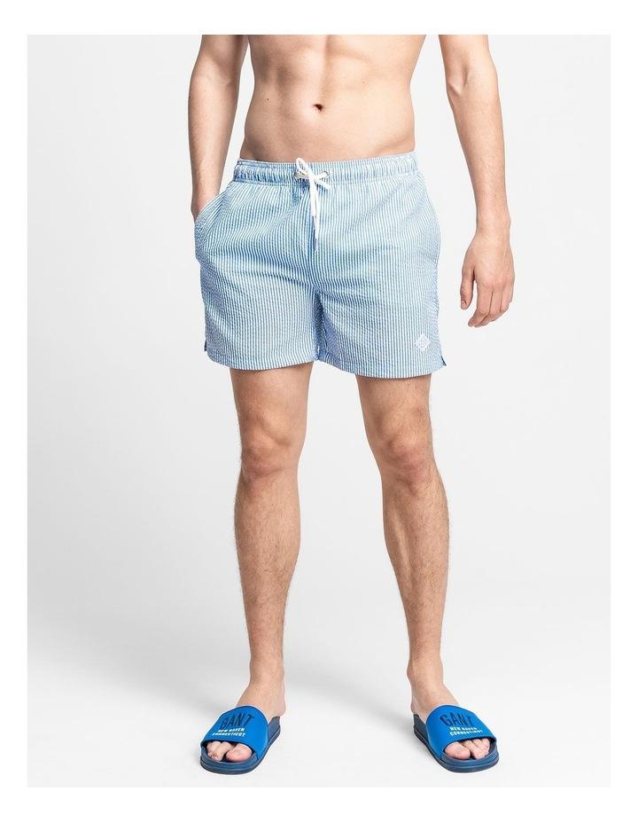 Seersucker Swim Shorts image 1