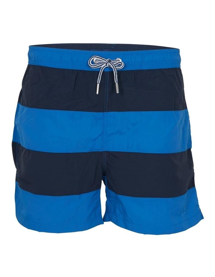 Rugby Stripe Swim Shorts image 1