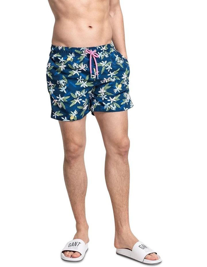 Lemon Flowers Swim Shorts image 1