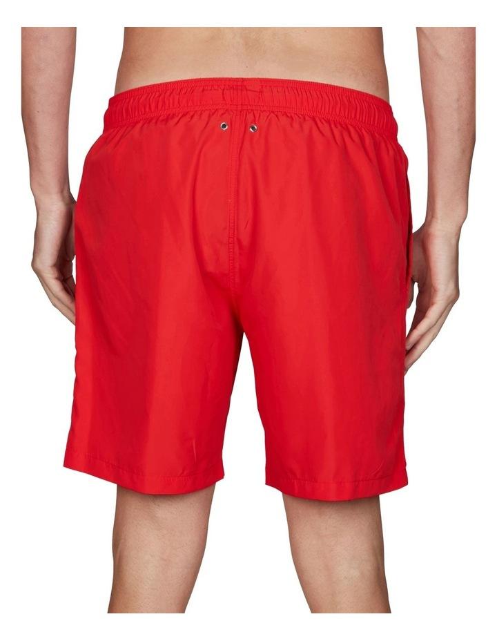 Lightweight Logo Swim Short Red image 2