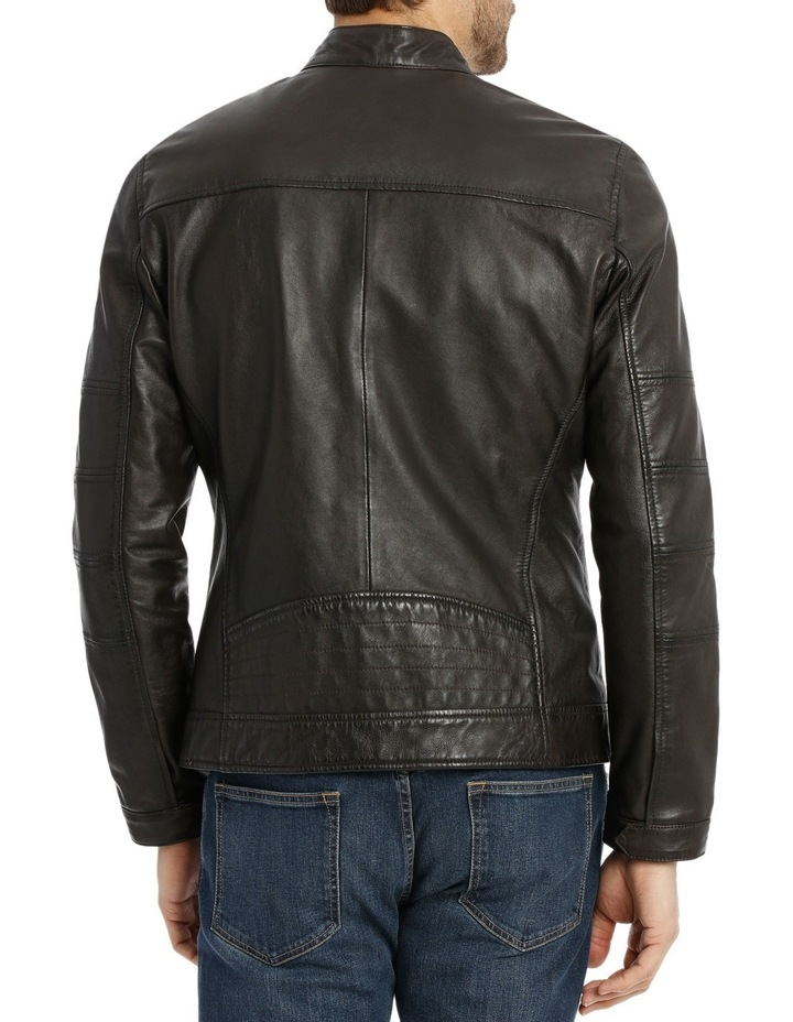 Castle Mountain Leather Jacket image 3