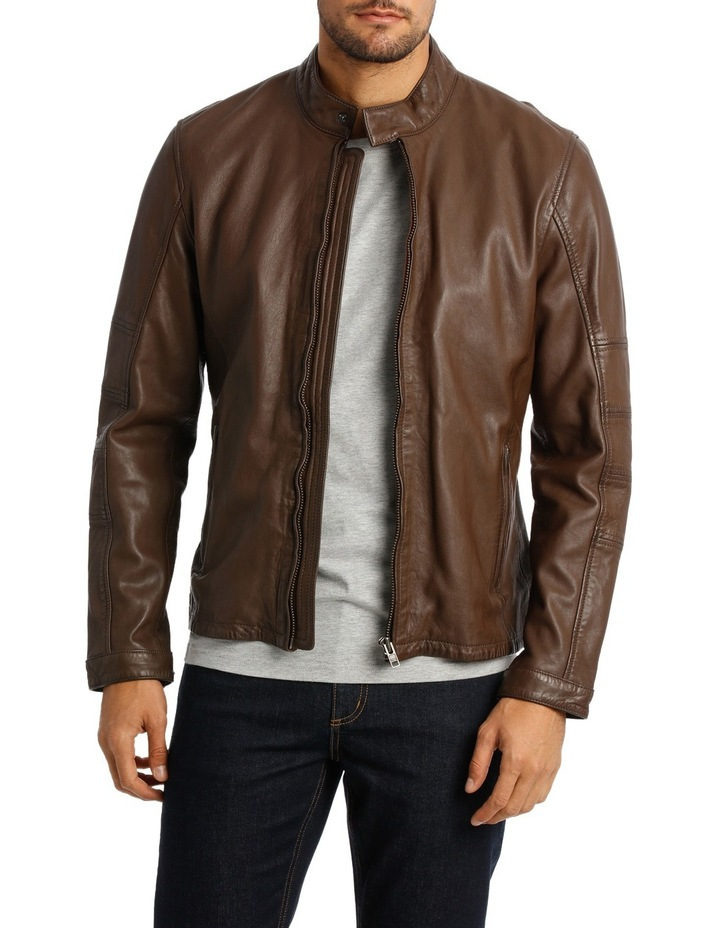 Castle Mountain Leather Jacket image 1