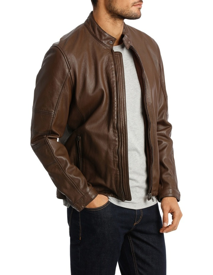 Castle Mountain Leather Jacket image 2