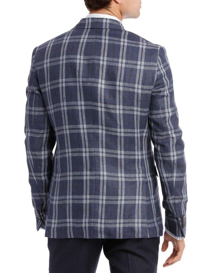 Gerrards Cross Linen Check Blazer image 3