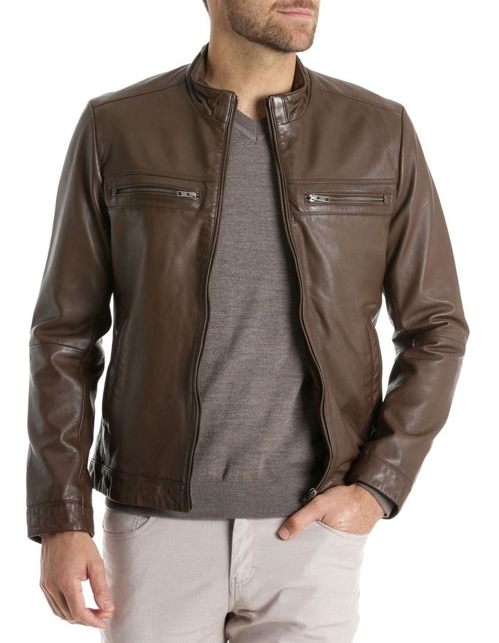 Whitby Leather Jacket image 1
