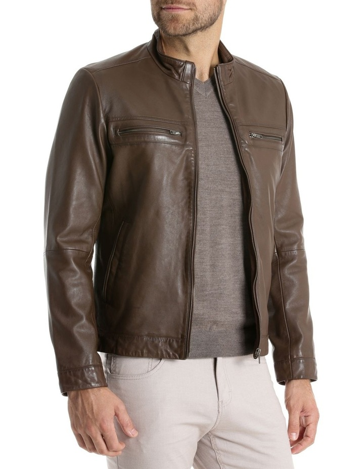 Whitby Leather Jacket image 2