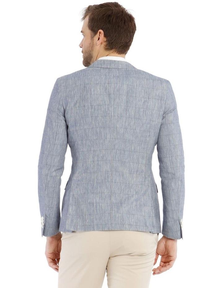 Dover Check Linen Blend Blazer image 3