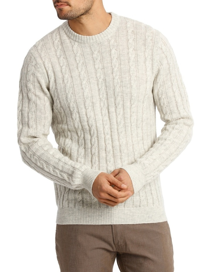 Snowmass Cable knit Sweat image 1