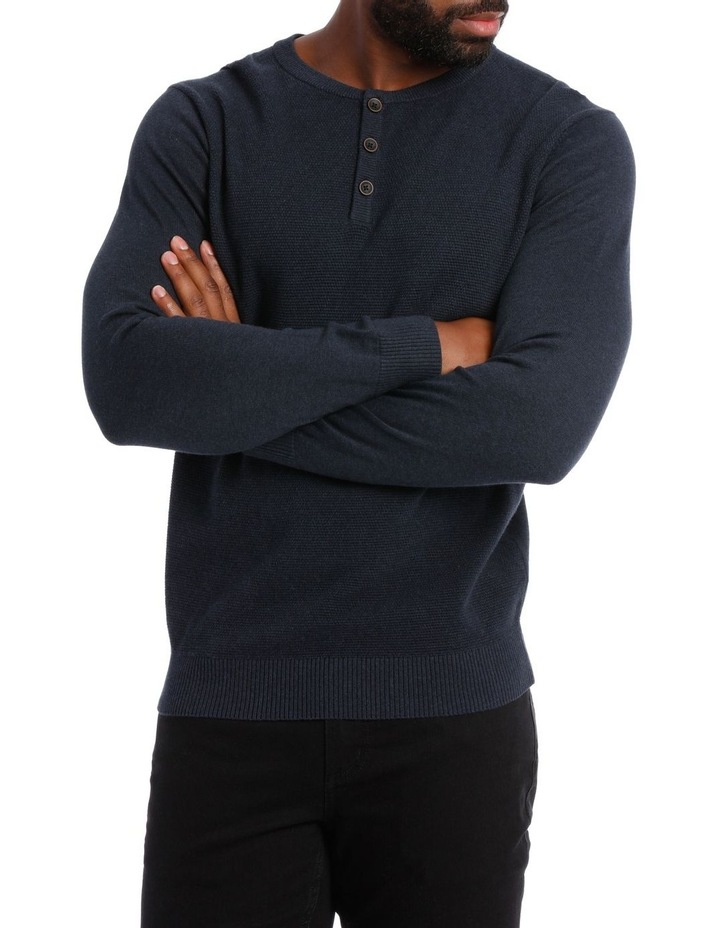 Corby Henley Button Knit image 1