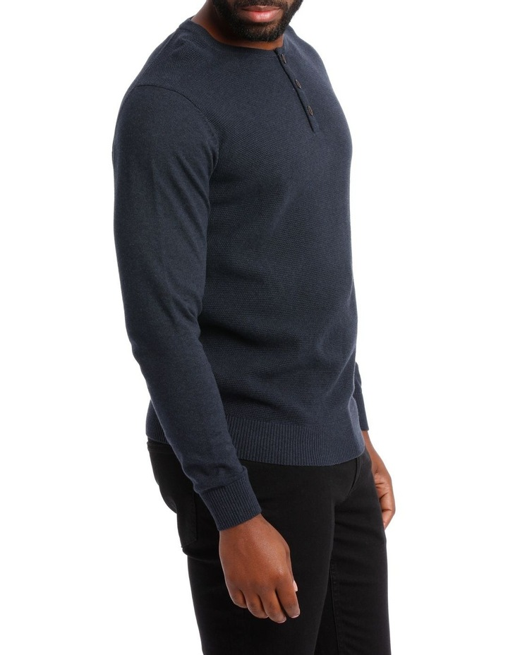 Corby Henley Button Knit image 2