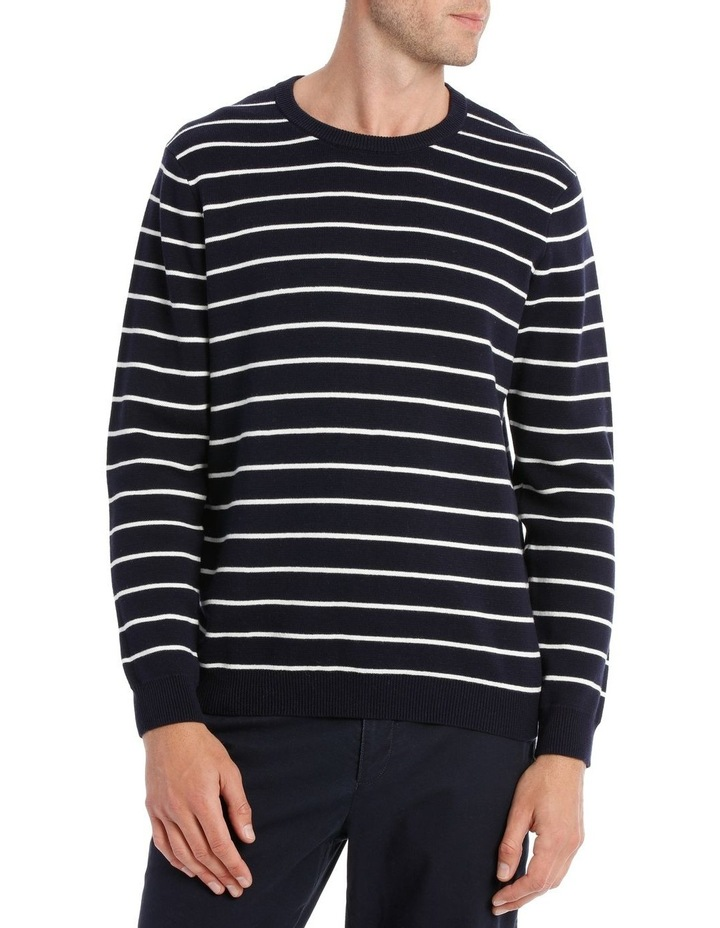Beaconsfield Stripe Crew Neck image 1