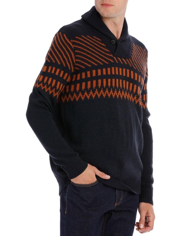 Rathlin Island Shawl Neck Knit image 2
