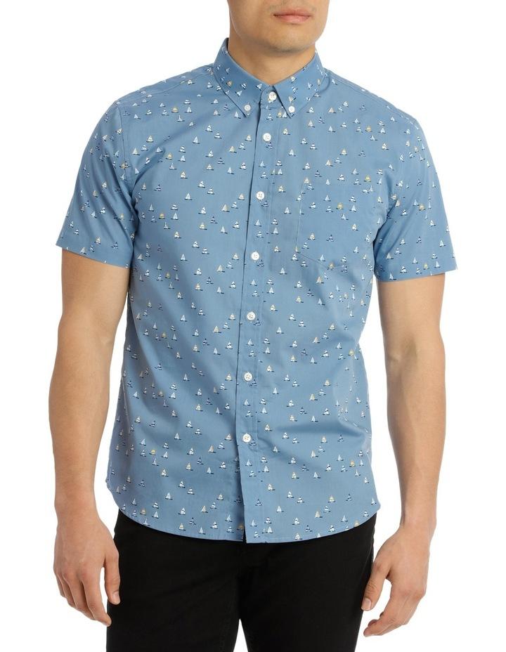 Short Sleeve Noble Print Shirt image 1