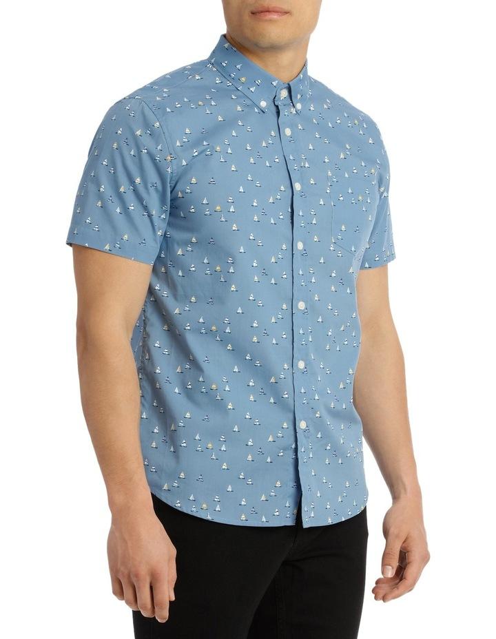 Short Sleeve Noble Print Shirt image 2