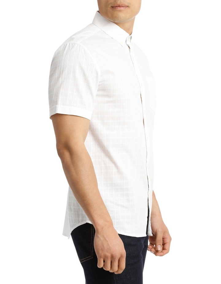 Short Sleeve Lindeman Textured Plain Shirt image 2