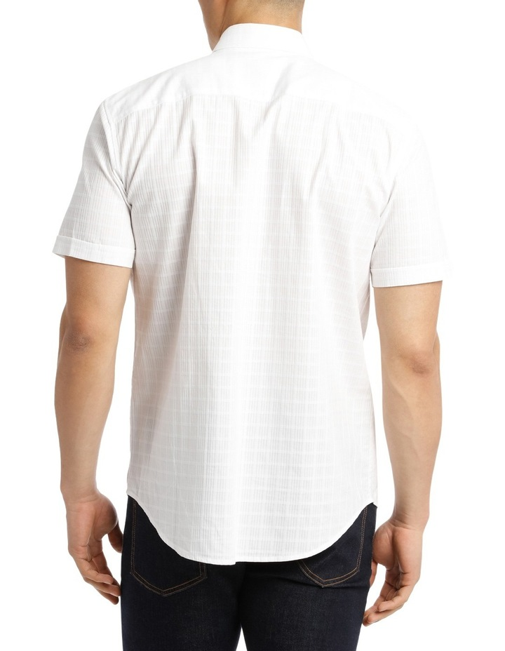 Short Sleeve Lindeman Textured Plain Shirt image 3