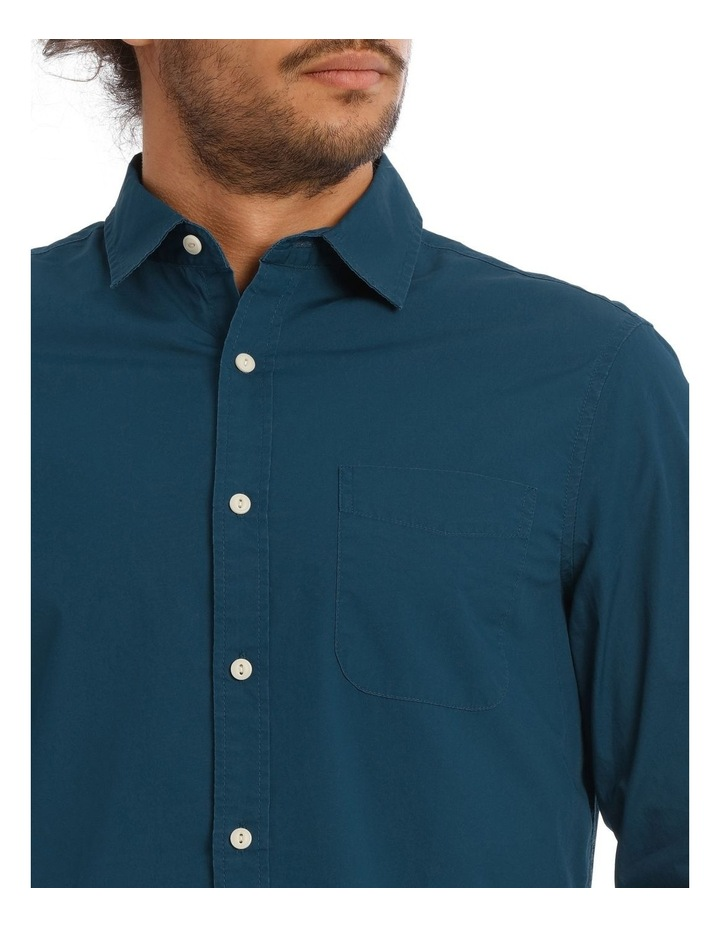 Hawker Poplin Long Sleeve Shirt image 4