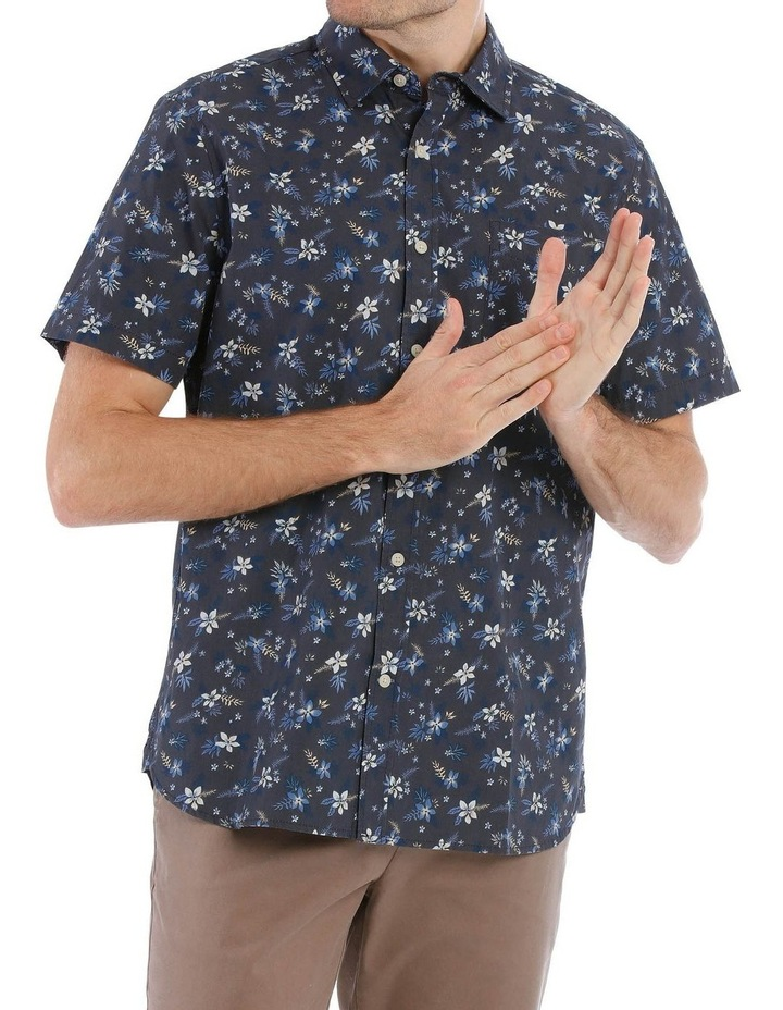 Finch Floral Printed Short Sleeve Shirt image 1