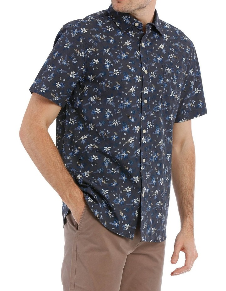 Finch Floral Printed Short Sleeve Shirt image 2