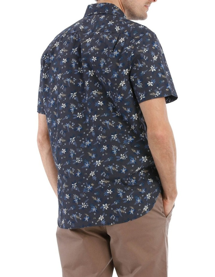 Finch Floral Printed Short Sleeve Shirt image 3