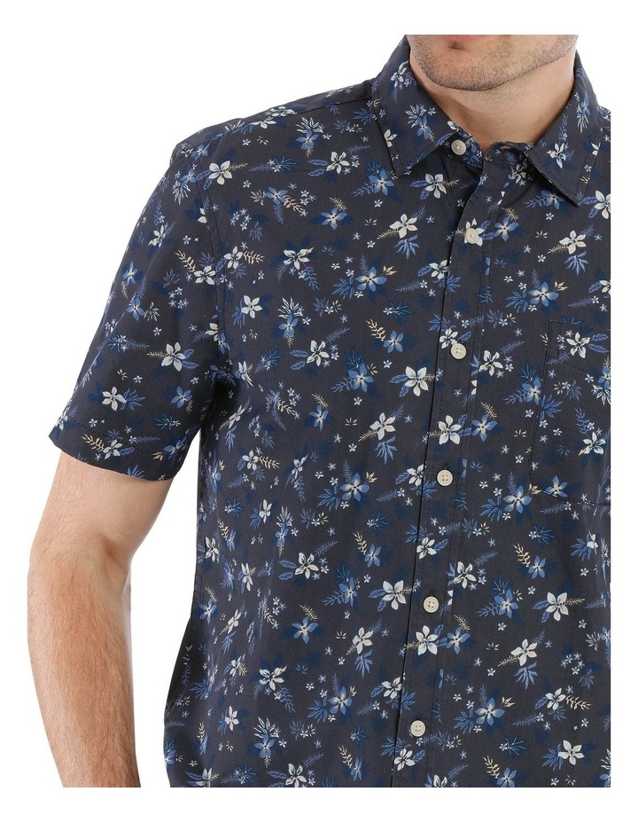 Finch Floral Printed Short Sleeve Shirt image 4