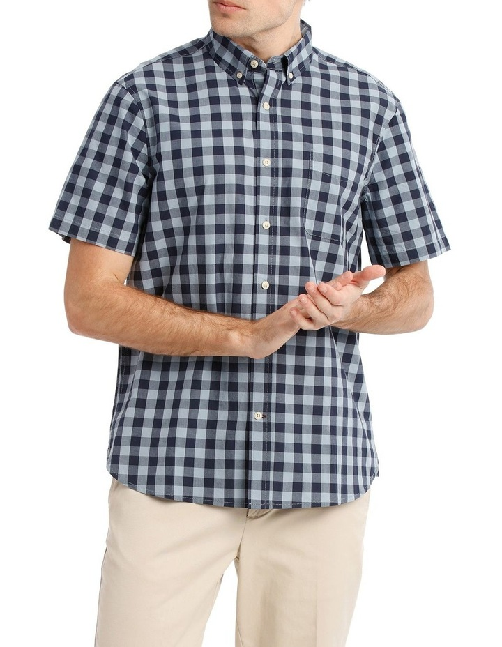 Santa Fe Gingham Check Short Sleeve Shirt image 1