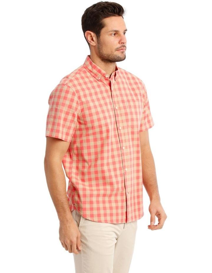 Santa Fe Gingham Check Short Sleeve Shirt image 2