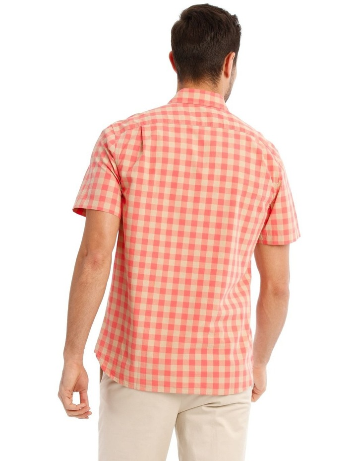 Santa Fe Gingham Check Short Sleeve Shirt image 3