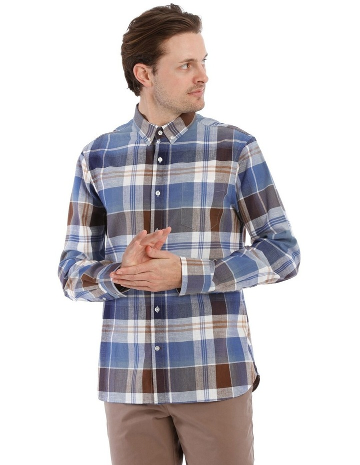 Stolland Checkered Long-Sleeve Shirt image 1